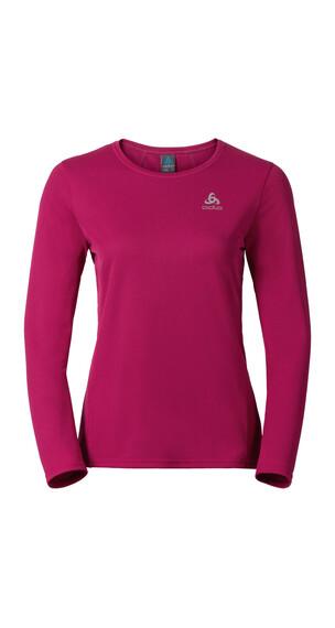 Odlo Shaila hardloopshirt Dames roze/rood